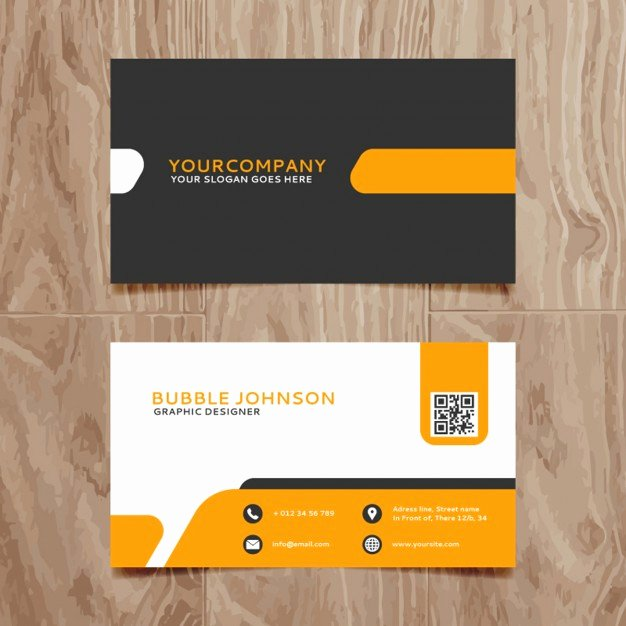 Business Card Ai Template Best Of Modern Simple Business Card Template Vector