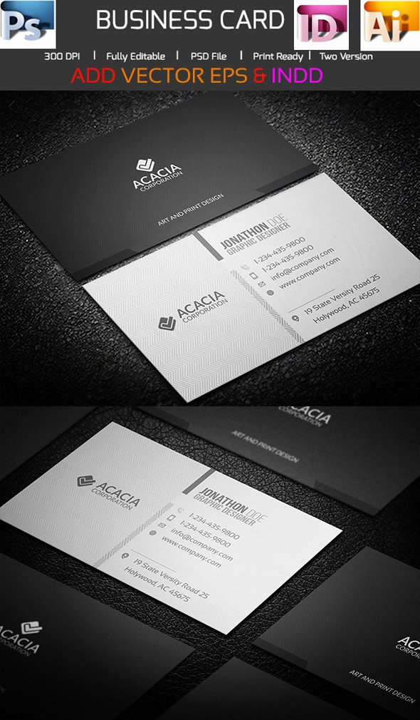 Business Card Ai Template New 15 Premium Business Card Templates In Shop