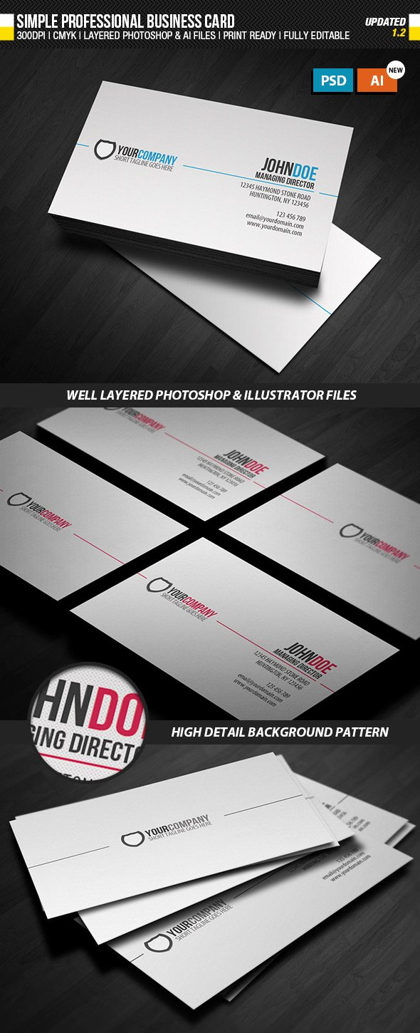Business Card Illustrator Template Awesome 15 Premium Business Card Templates In Shop