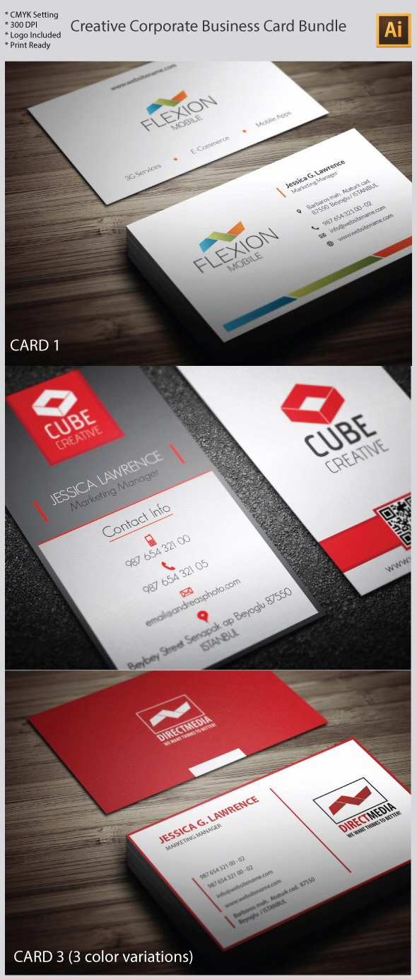 Business Card Illustrator Template Inspirational 15 Premium Business Card Templates In Shop