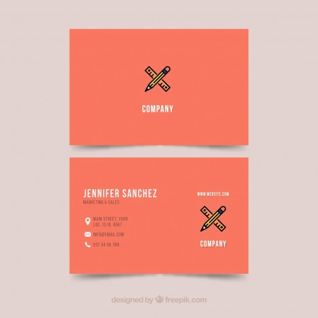 Business Card Illustrator Template New Business Card Template Illustrator Vector
