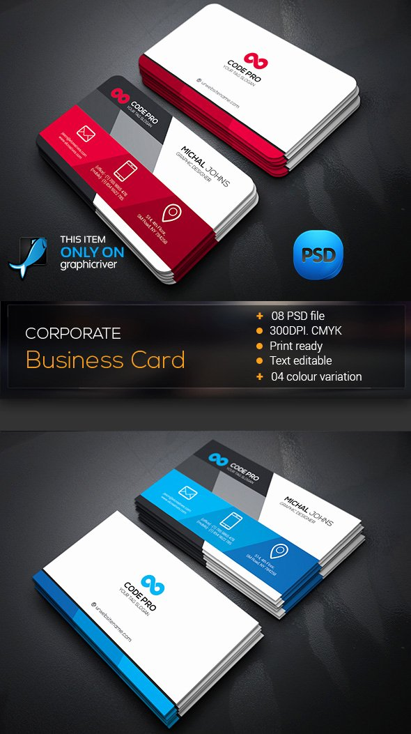 Business Card Illustrator Template Unique 15 Premium Business Card Templates In Shop