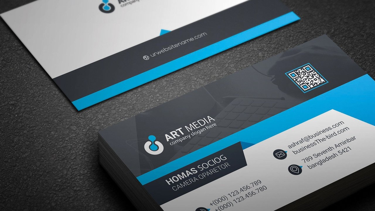 Business Card Illustrator Template Unique Creating A Professional Business Card Design Using Simple