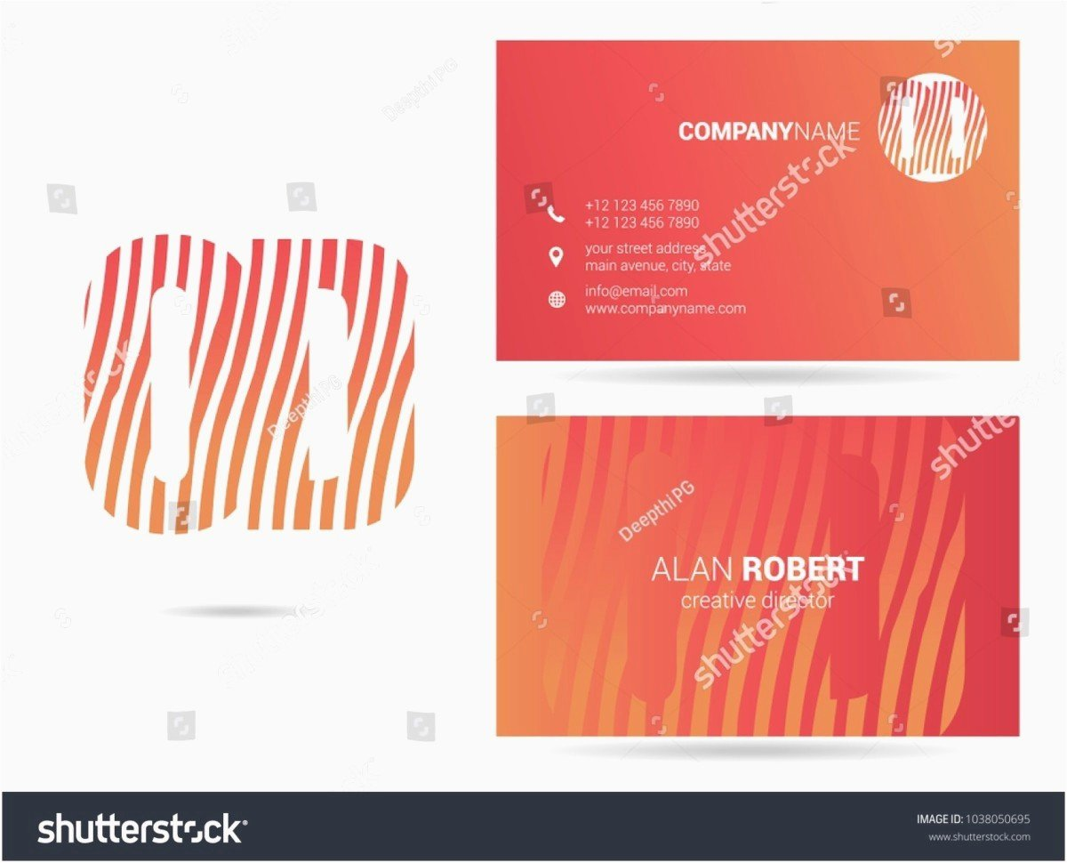 Business Card Template Ai Awesome Business Card Template Ai Free Adobe Illustrator Business