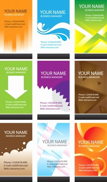 Business Card Template Ai Fresh Business Card Free Vector 22 370 Free Vector