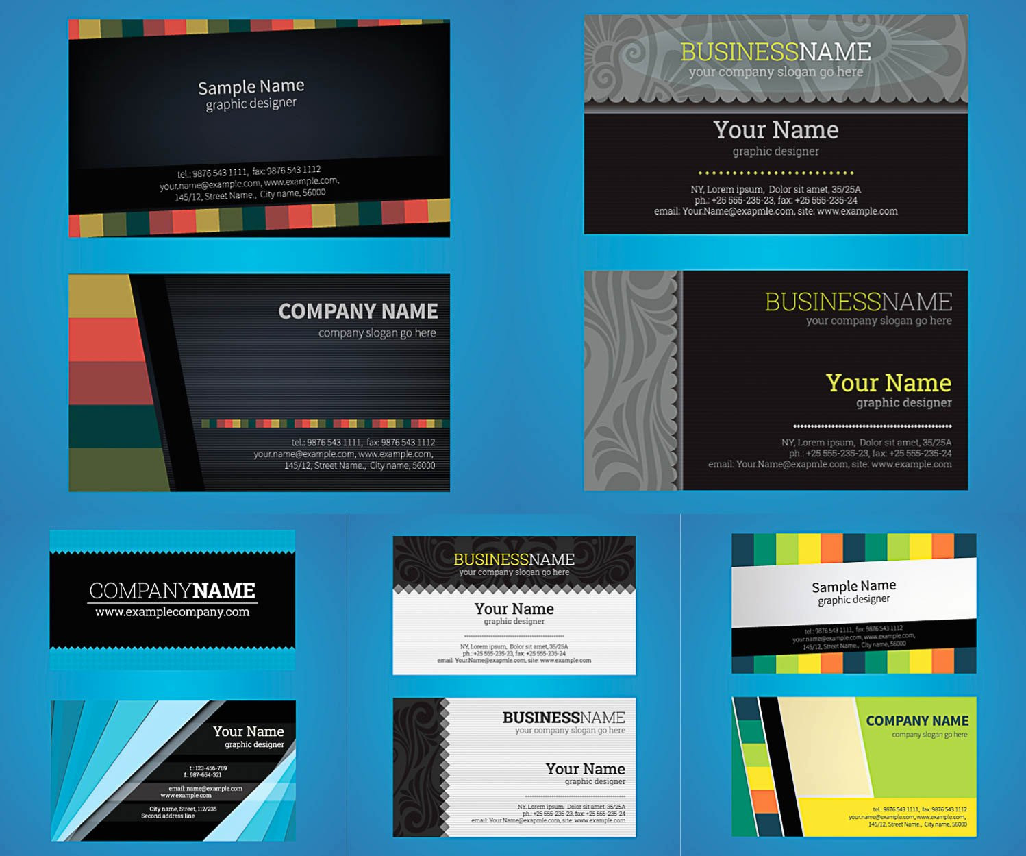 Business Card Template Ai Inspirational Business Vector Graphics Art Free Design Ai
