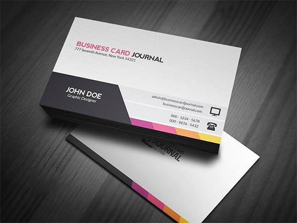 Business Card Template Ai Unique 63 Corporate Business Card Templates Indesign Ai Word