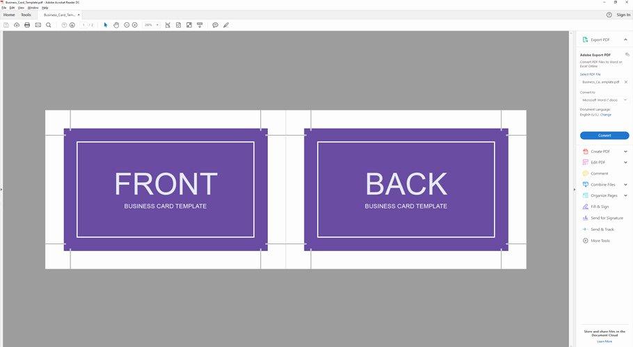 Business Card Template Illustrator Beautiful How to Make A Business Card Template with Bleeds In Adobe