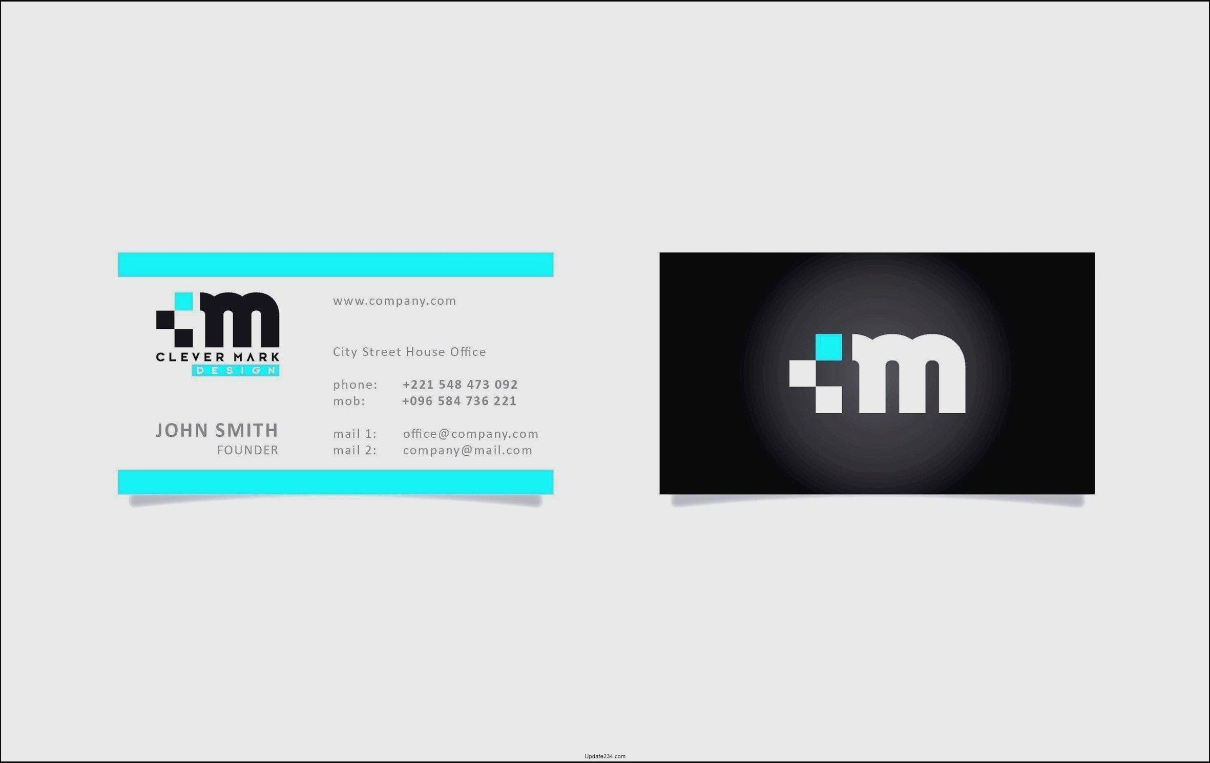 adobe illustrator business card template