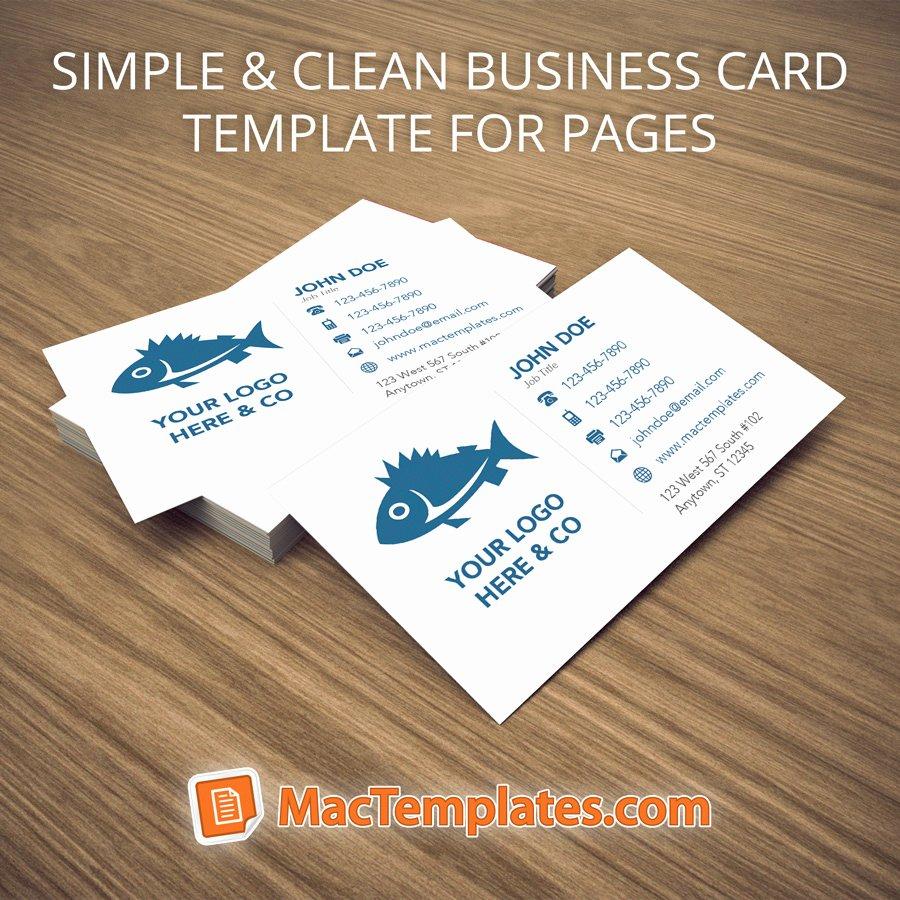 Business Card Template Illustrator Inspirational Business Cards Template for Pages or Illustrator