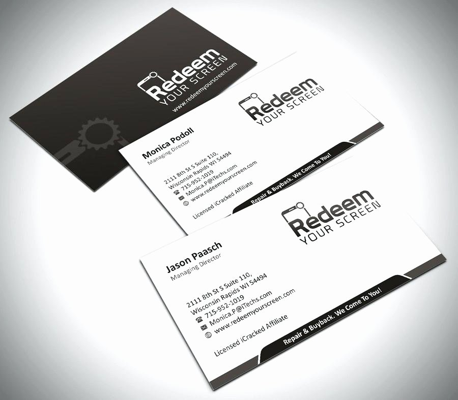 Business Card Template Powerpoint Beautiful astonishing Business Cards Creative Rick Consultancy at