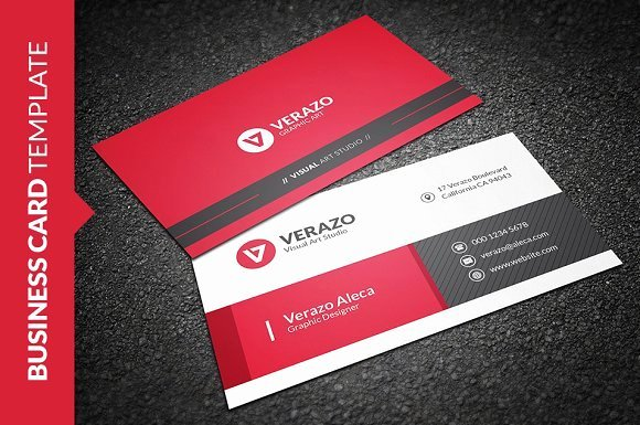 Business Card Template Ppt Awesome Free Creative Business Card Templates