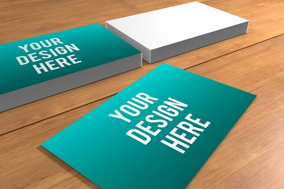 Business Card Template Ppt Inspirational Business Card Presentation Template Business Card