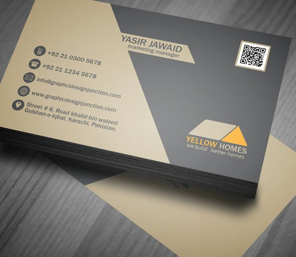 Business Card Template Ppt Unique Free Real Estate Business Card Template Psd