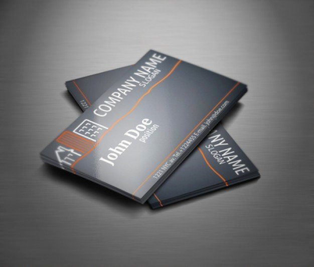 Business Card Template Vector Luxury Real Estate Professional Business Card Template Vector