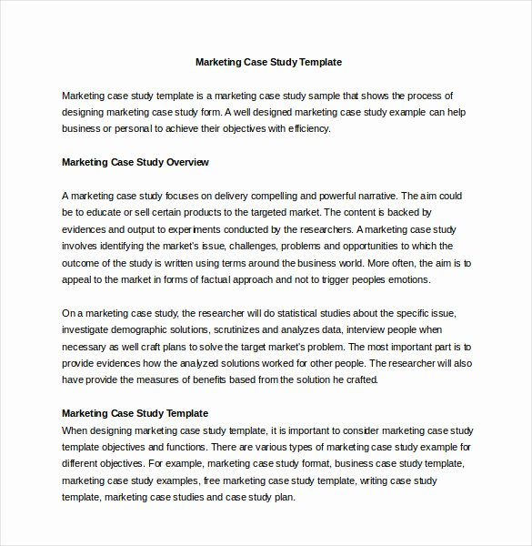 Business Case Analysis Template Beautiful Case Template – 11 Free Word Pdf Psd Documents Download
