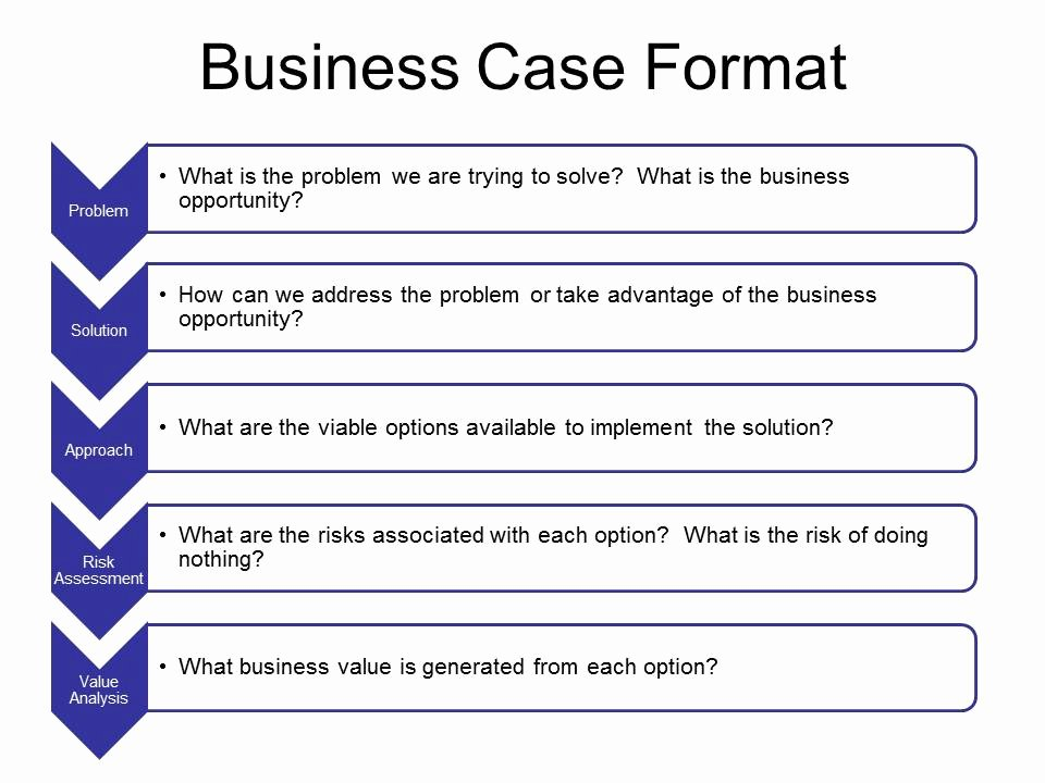 Business Case Template Excel Beautiful Simple Business Case Template Powerpoint Business Case