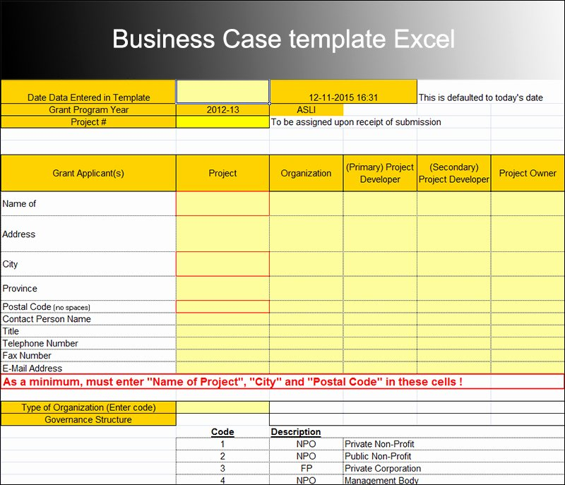 Business Case Template Excel Luxury 8 Business Case Template Free Word Pdf Excel Doc formats
