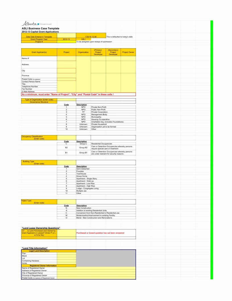 Business Case Template Excel New Business Case Template 2 Pdf Google Sheet Excel format