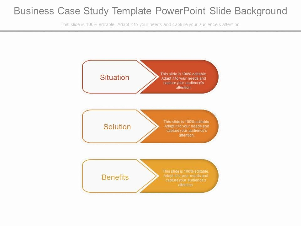 Business Case Template Powerpoint Beautiful Business Case Study Template Powerpoint Slide Background