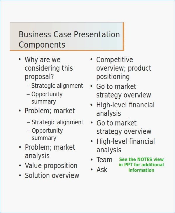 Business Case Template Ppt Beautiful Business Case Template Ppt – Harddancefo