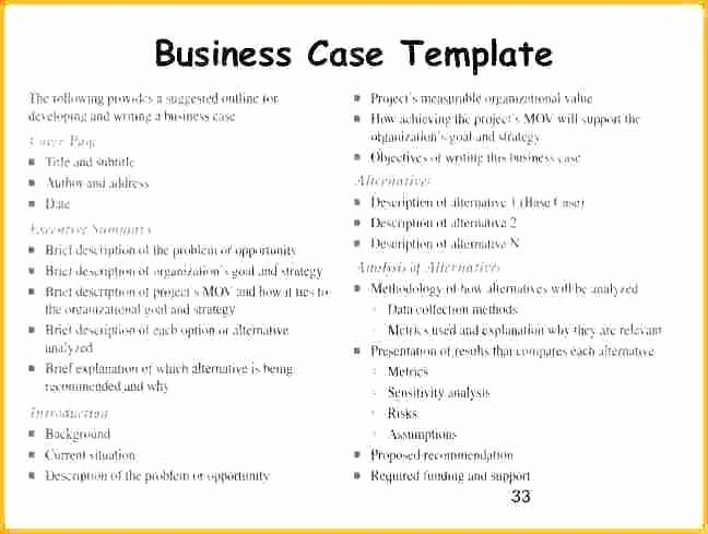 Business Case Template Word Best Of Business Case Template Word – Btcromaniafo