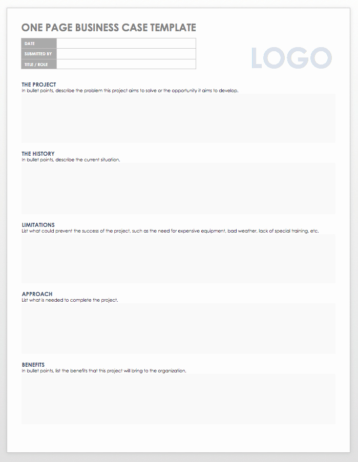 Business Case Template Word Best Of Free Business Case Templates