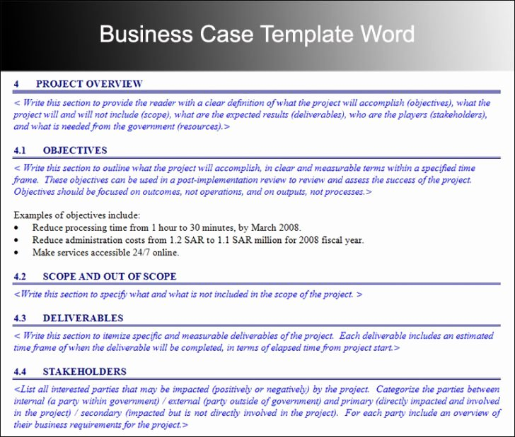 Business Case Template Word Elegant Simple Business Case Template Doc Archives Adktrigirl