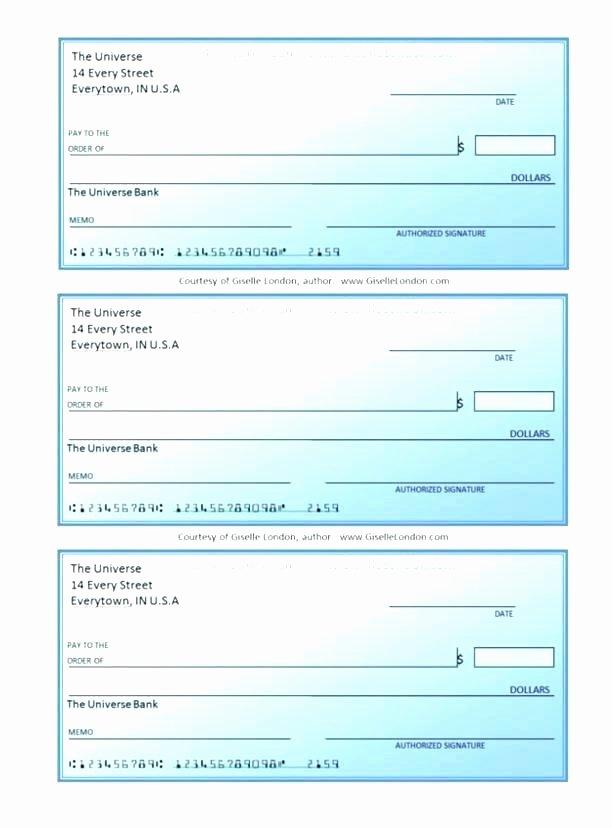 Business Check Printing Template New Printable Business Check Template Business Check Template