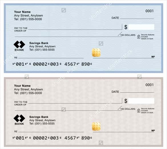 Business Check Template Word Luxury 24 Blank Check Template Doc Psd Pdf & Vector formats