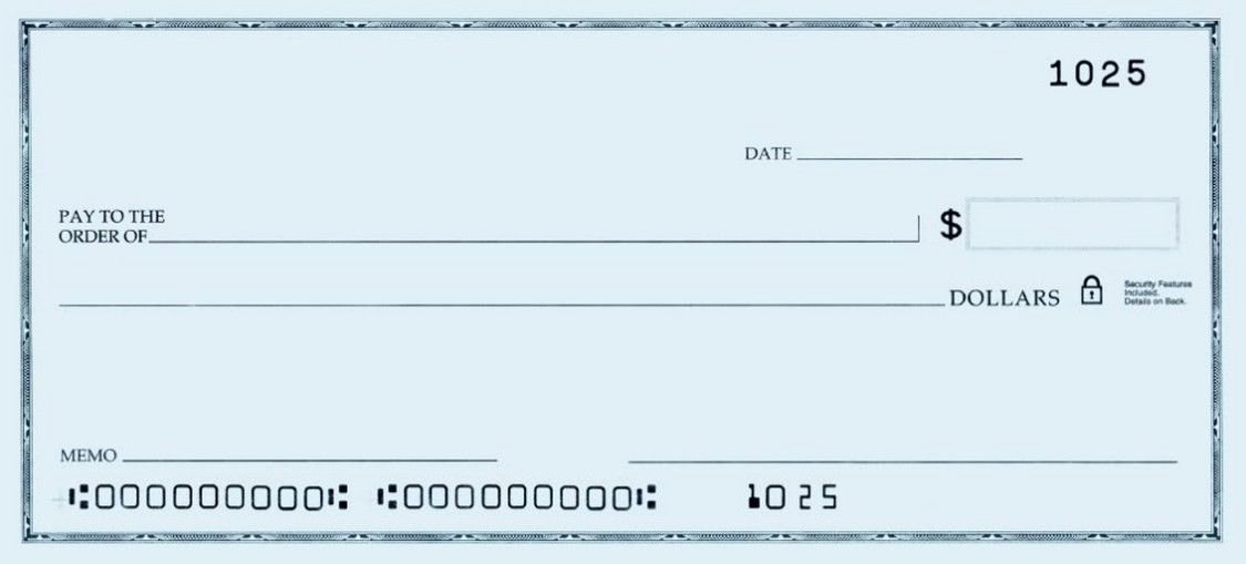 Business Check Template Word Luxury Printable Personal Blank Check Template