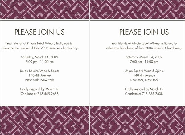 business dinner invitations