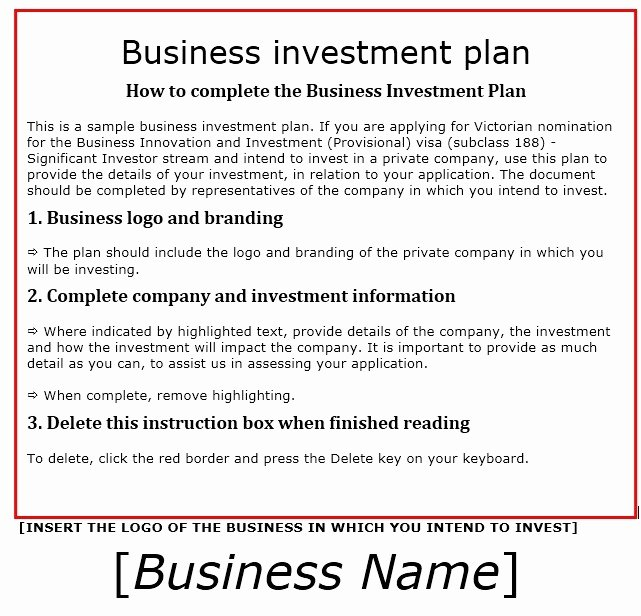 Business Investment Proposal Template Awesome 13 Free Sample Investment Proposal Templates Printable