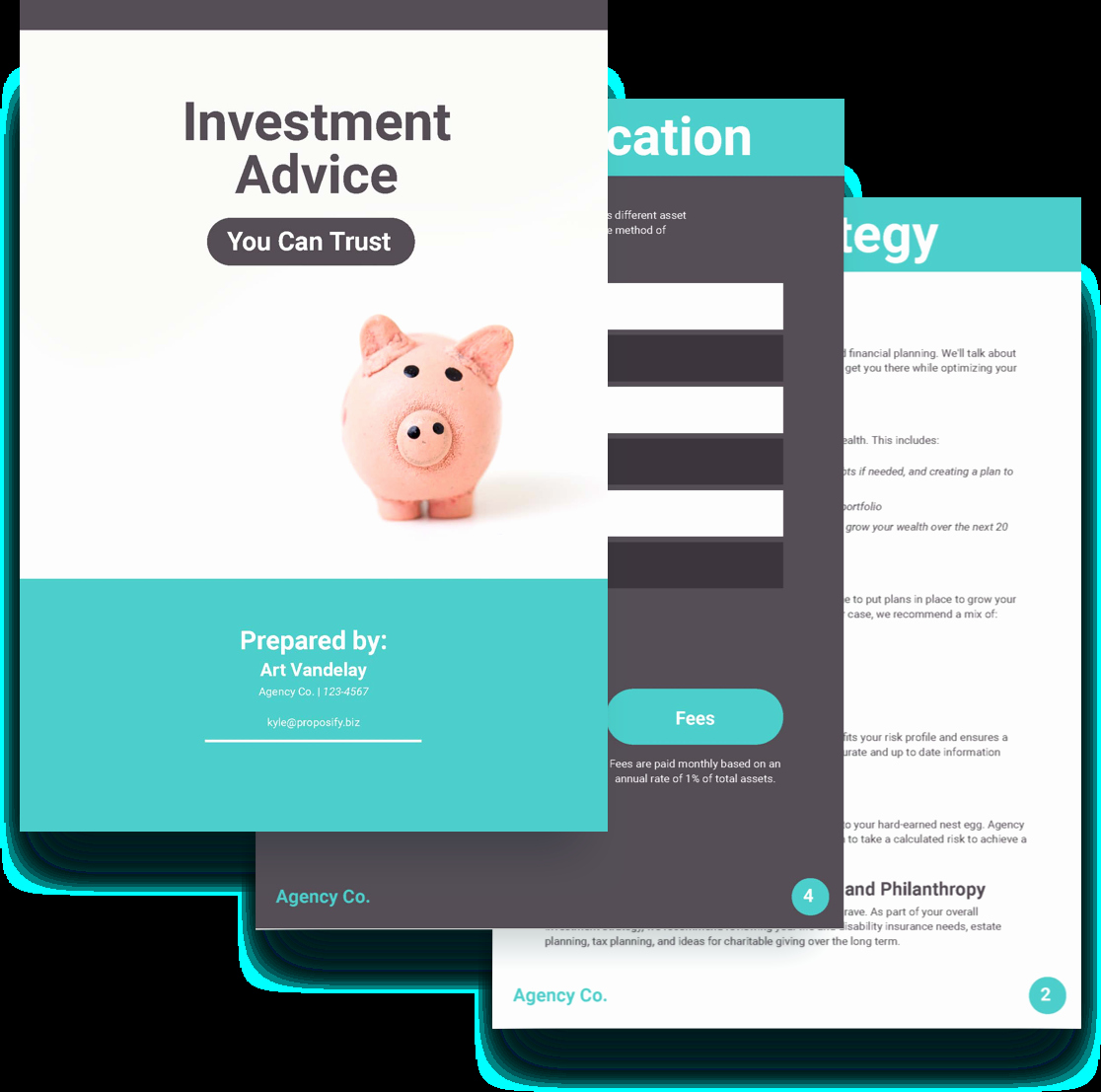 Business Investment Proposal Template Awesome Investment Proposal Template Free Sample