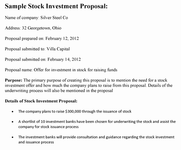Business Investment Proposal Template Awesome top 4 Resources to Get Free Investment Proposal Templates