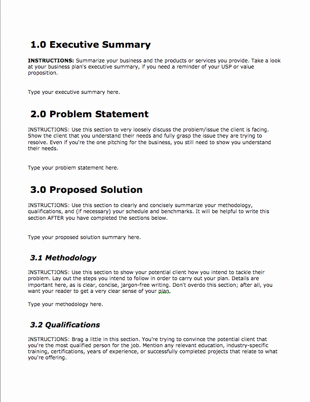 Business Investment Proposal Template Beautiful Business Proposal Template — Free Download