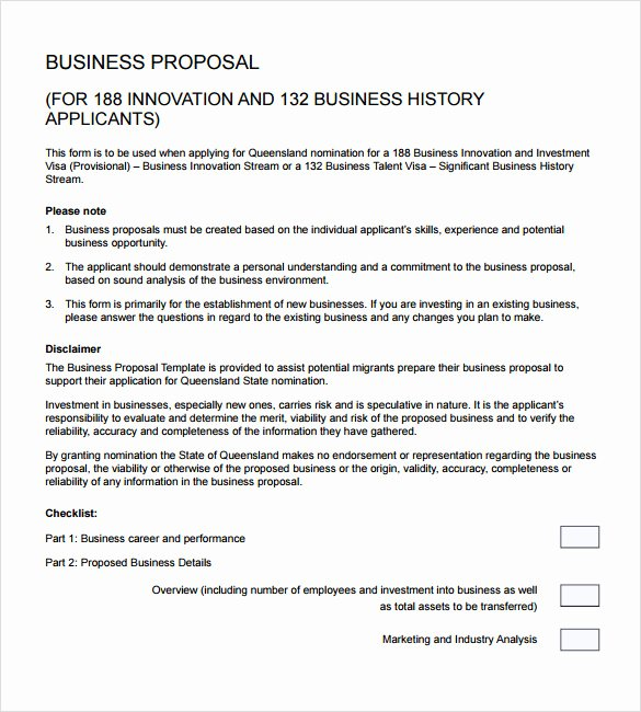 Business Investment Proposal Template Fresh 18 Business Proposal Samples