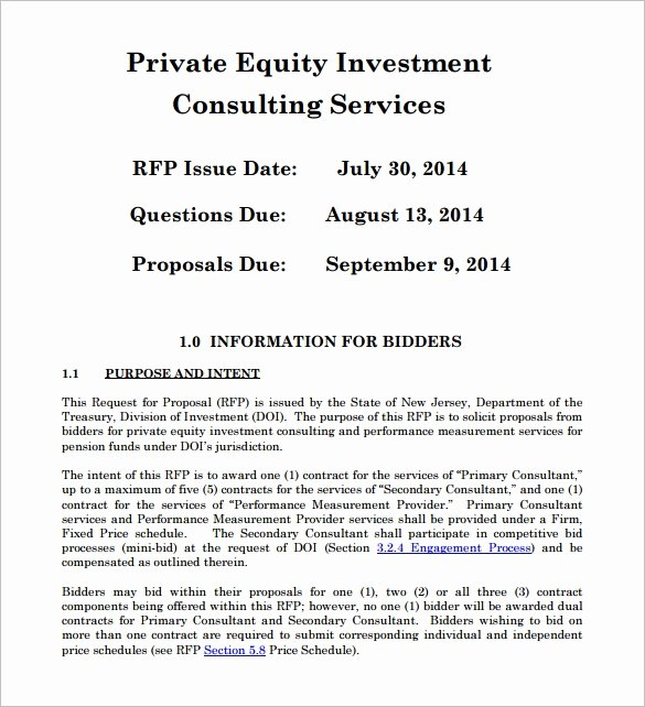 Business Investment Proposal Template Lovely 18 Investment Proposal Templates Word Pdf Pages
