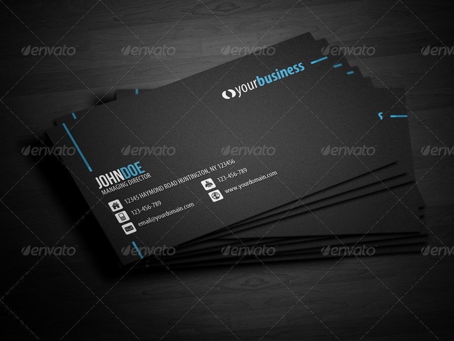 Business Line Card Template Elegant 25 Best Business Card Templates Shop Designs 2017