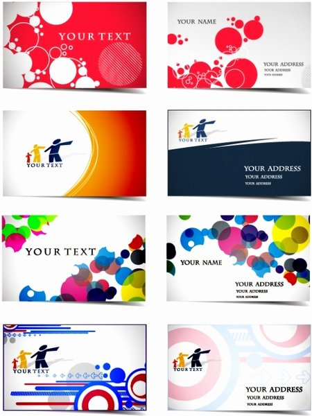 Business Line Card Template Inspirational Dynamic Flow Line Business Card Template Vector Free