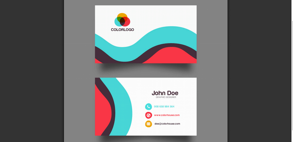 Business Line Card Template Unique top 18 Free Business Card Psd Mockup Templates In 2018