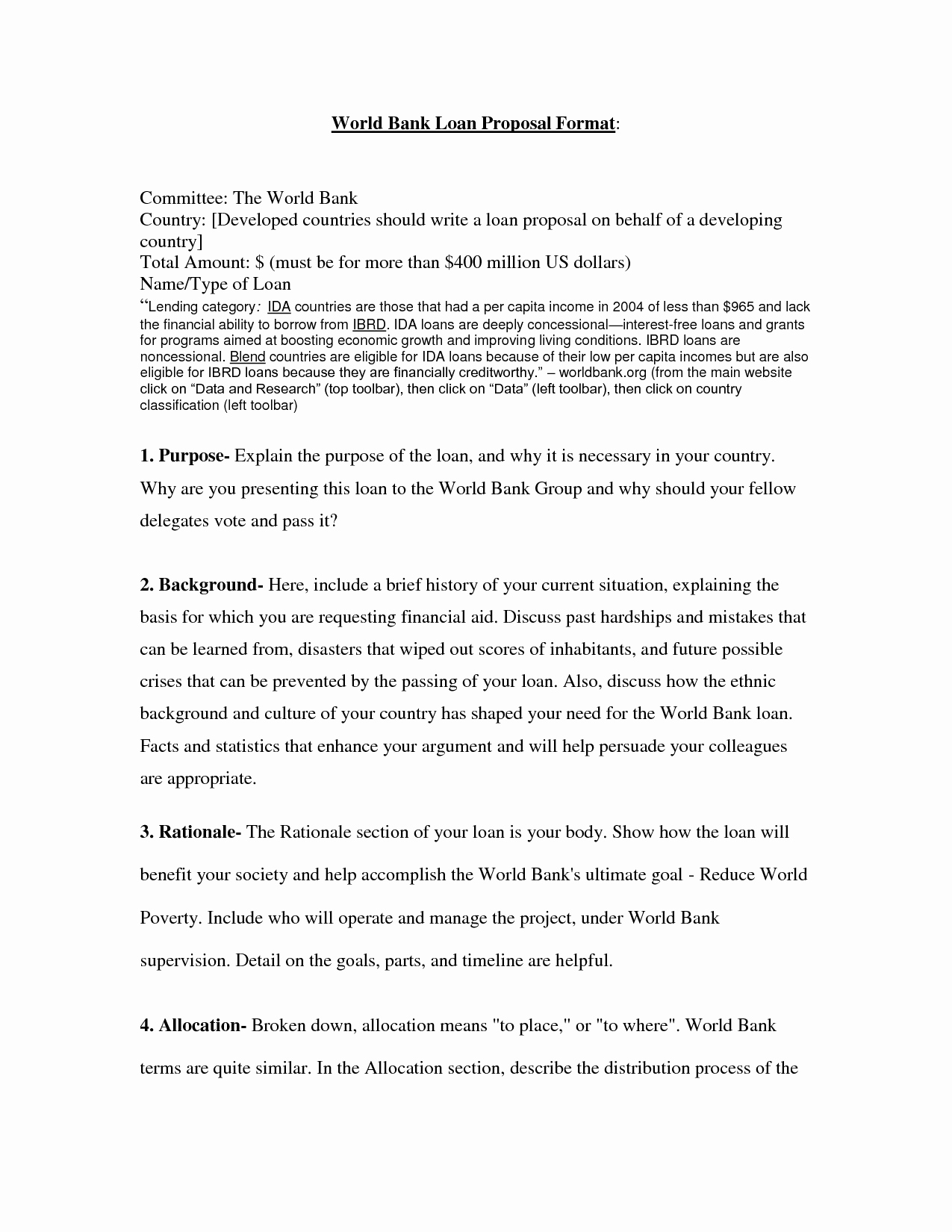 Business Loan Proposal Template Awesome 7 Best Of Small Business Loan Proposal Template
