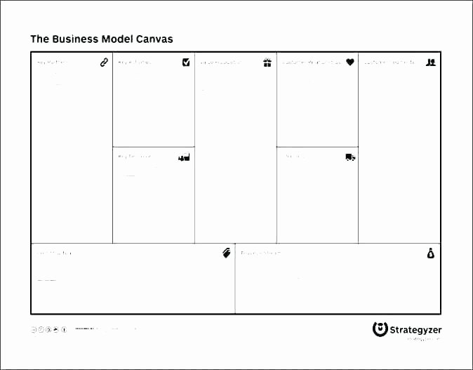 Business Model Template Word Fresh Business Model Canvas Template New Ideal Value Proposition