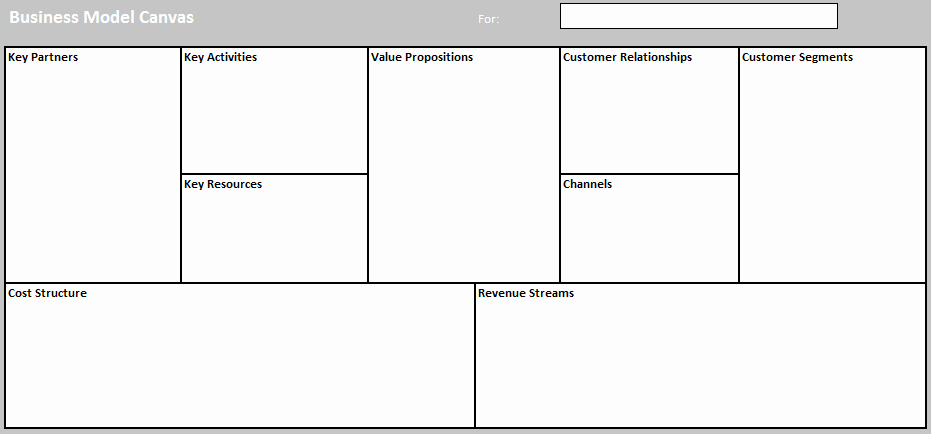 Business Model Template Word Luxury Business Model Templates for Word Excel and Pdf