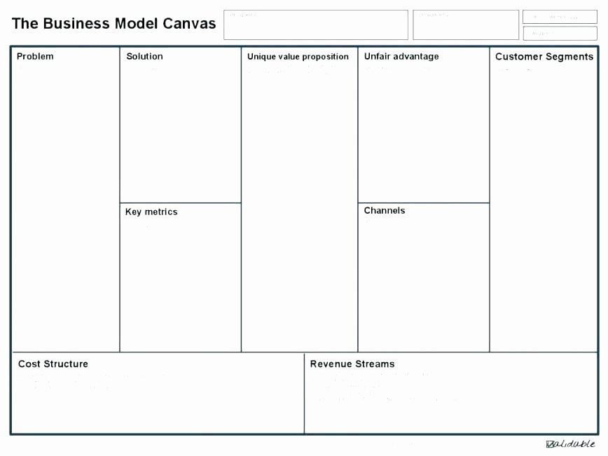 Business Model Template Word New Business Plan Canvas Model Picture Business Model Canvas