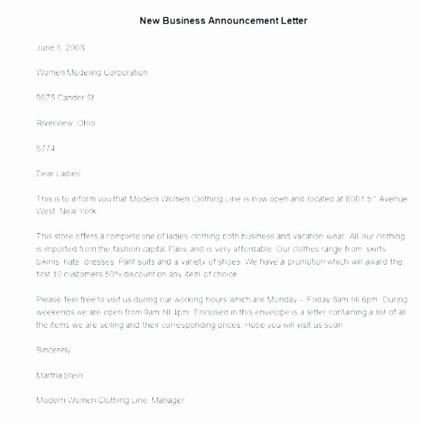 Business Moving Announcement Template Awesome Business Moving Announcement Template Business Moving
