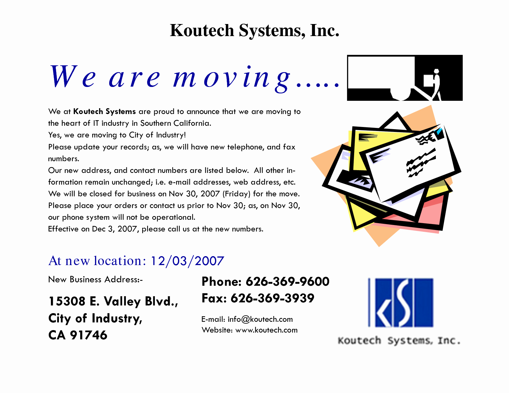 Business Moving Announcement Template Best Of 10 Best Of Notice Relocation Business Business
