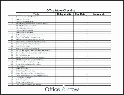Business Moving Checklist Template Fresh Business Moving Checklist – Tsurukame