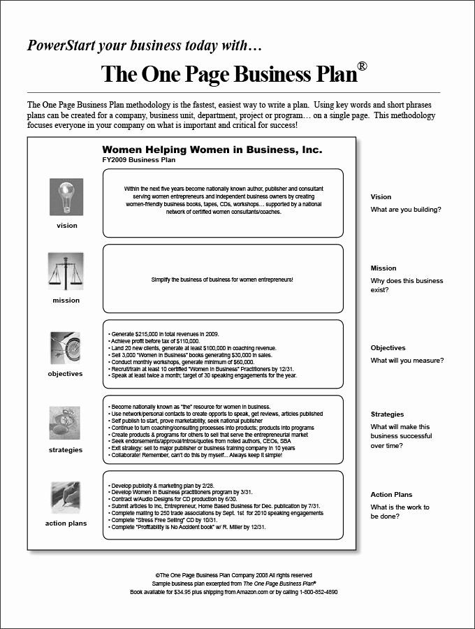 Business One Sheet Template Beautiful E Page Business Plan Template 14 Free Word Pdf