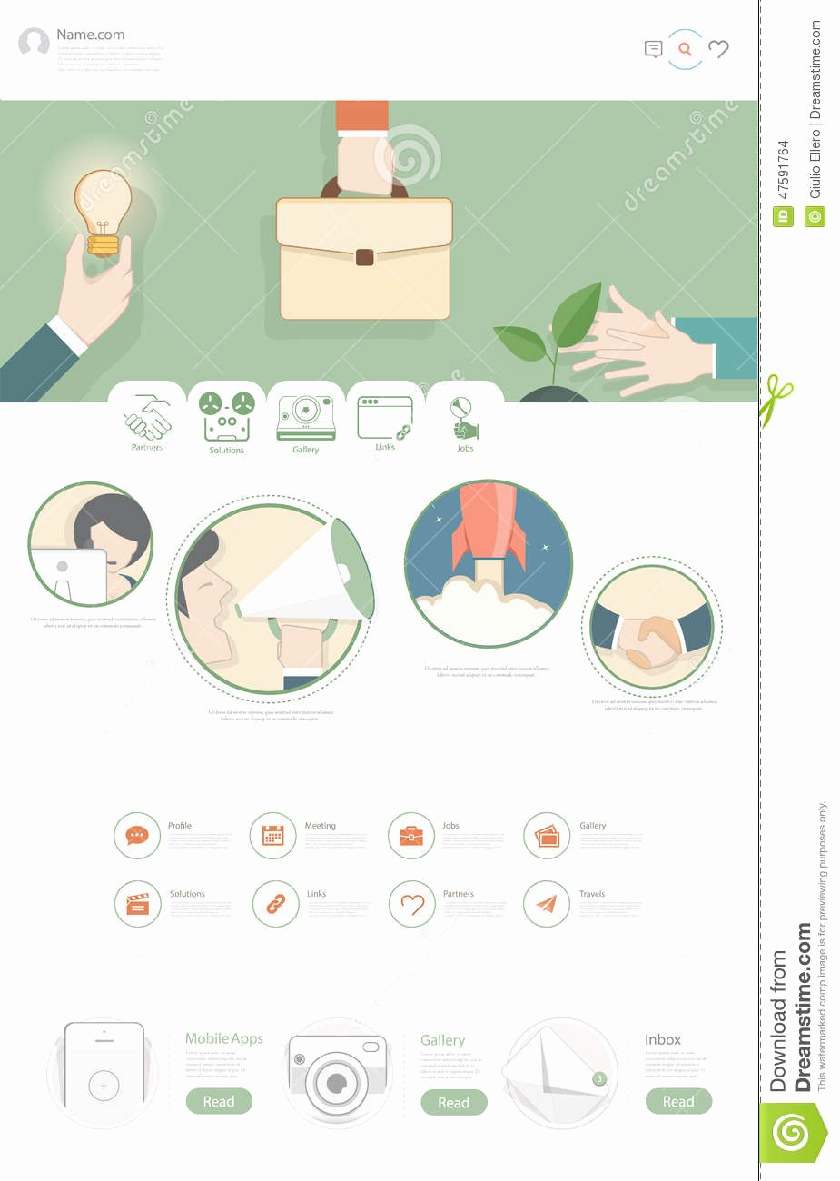 Business One Sheet Template Inspirational Business E Pager Template